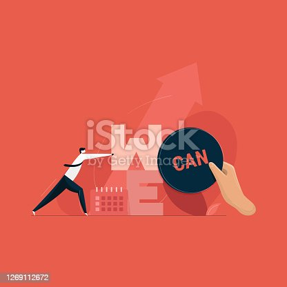 istock business leader motivating his team, we can do it concept 1269112672