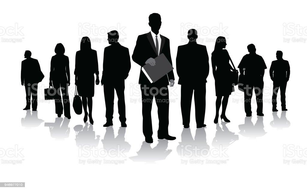 Business Leader – Vektorgrafik