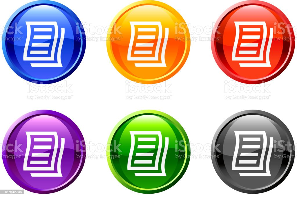 business letter royalty free vector icon set round buttons royalty-free business letter royalty free vector icon set round buttons stock vector art & more images of banking document