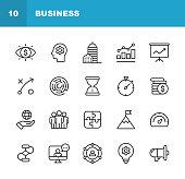 Outline Icon Set.
