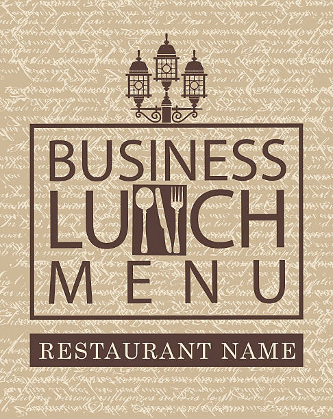 Business Lunch Clip Art, Vector Images & Illustrations ...
