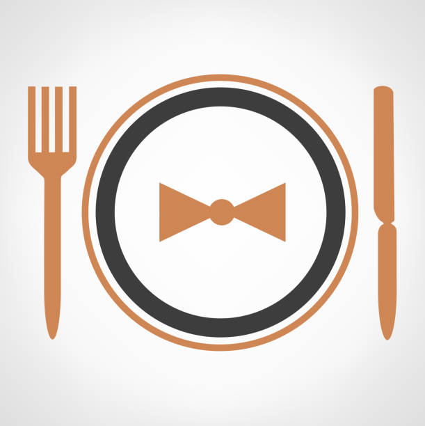 Royalty Free Business Dinner Clip Art, Vector Images ...