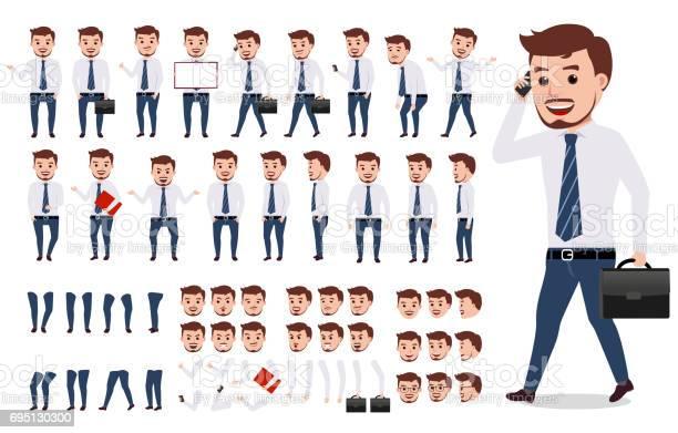 Business man character creation set male vector character walking vector id695130300?b=1&k=6&m=695130300&s=612x612&h=i0v4hxz9jmk 6wce1nqlj rpon6ae8yhse32vqsospm=