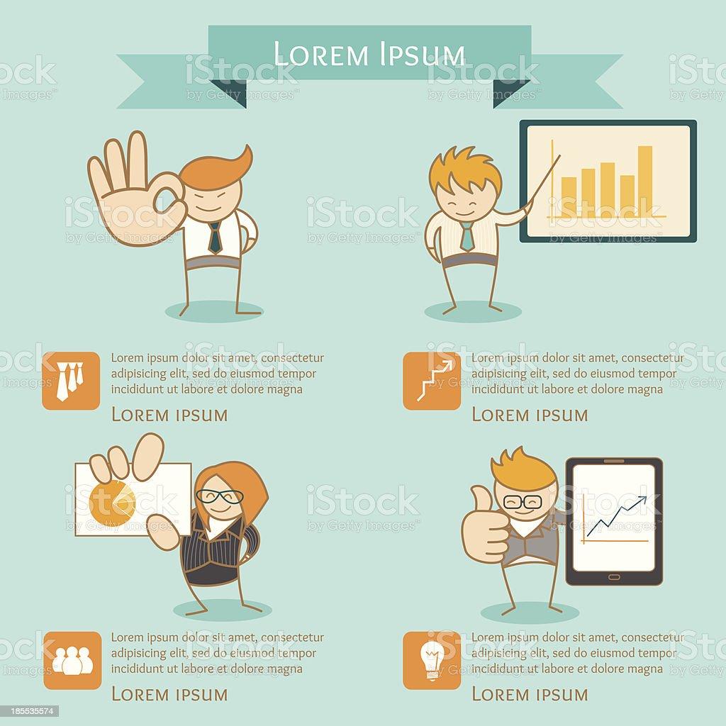Схема человека для презентации