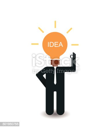 994786356 istock photo Business man making a business plan for success 501950755