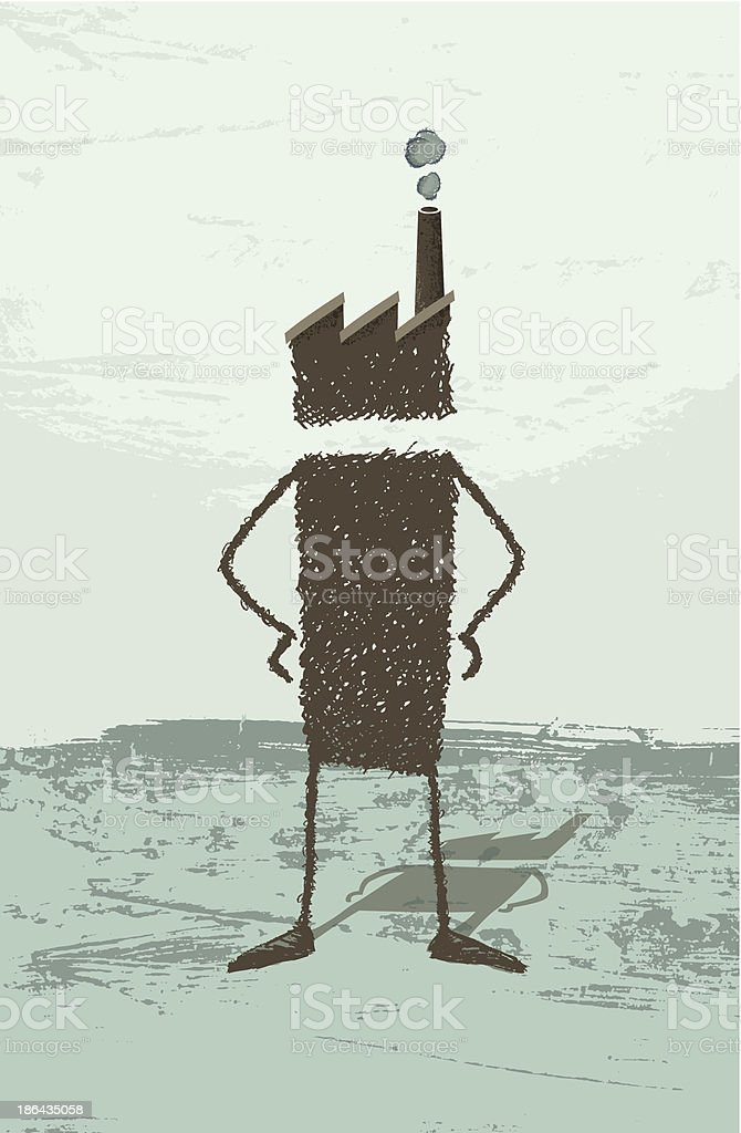 Business Man royalty-free stock vector art