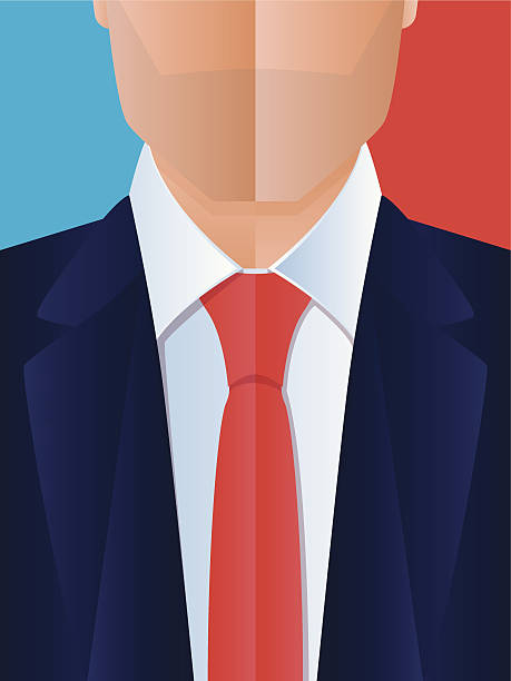 Business Man vector art illustration