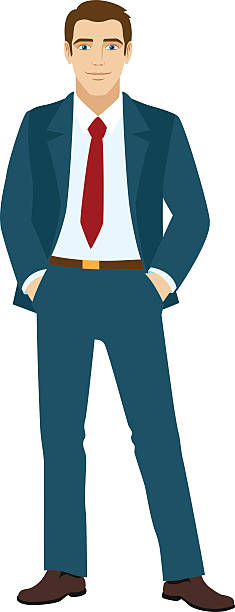 Royalty Free Suit Clip Art, Vector Images & Illustrations ...