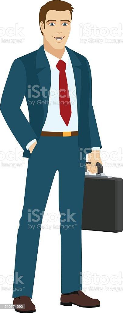 royalty free businessman clip art vector images illustrations rh istockphoto com running businessman clipart running businessman clipart