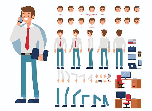 Affärsman-vektorgrafik och fler bilder på Affärsman