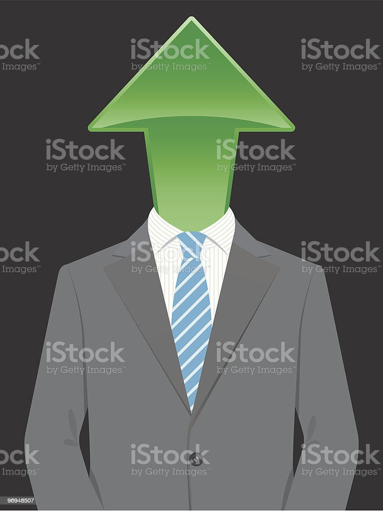 Business man with arrow head royalty-free business man with arrow head stock vector art & more images of adult