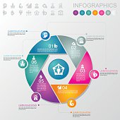 Business & Management Infographics and icons