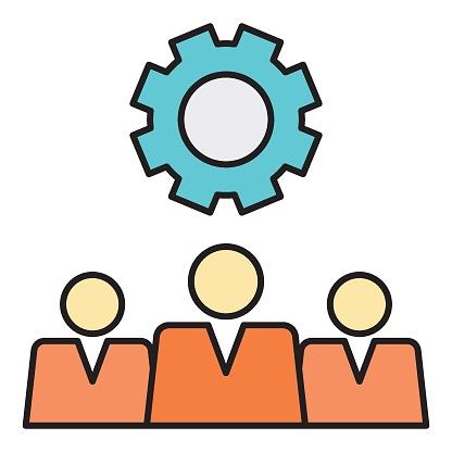 Business Managment Board of Directors  vector Icn design