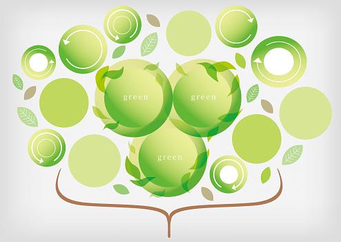 Zakelijke Materialen Groen Groeien Stockvectorkunst en meer beelden van Bedrijfsleven