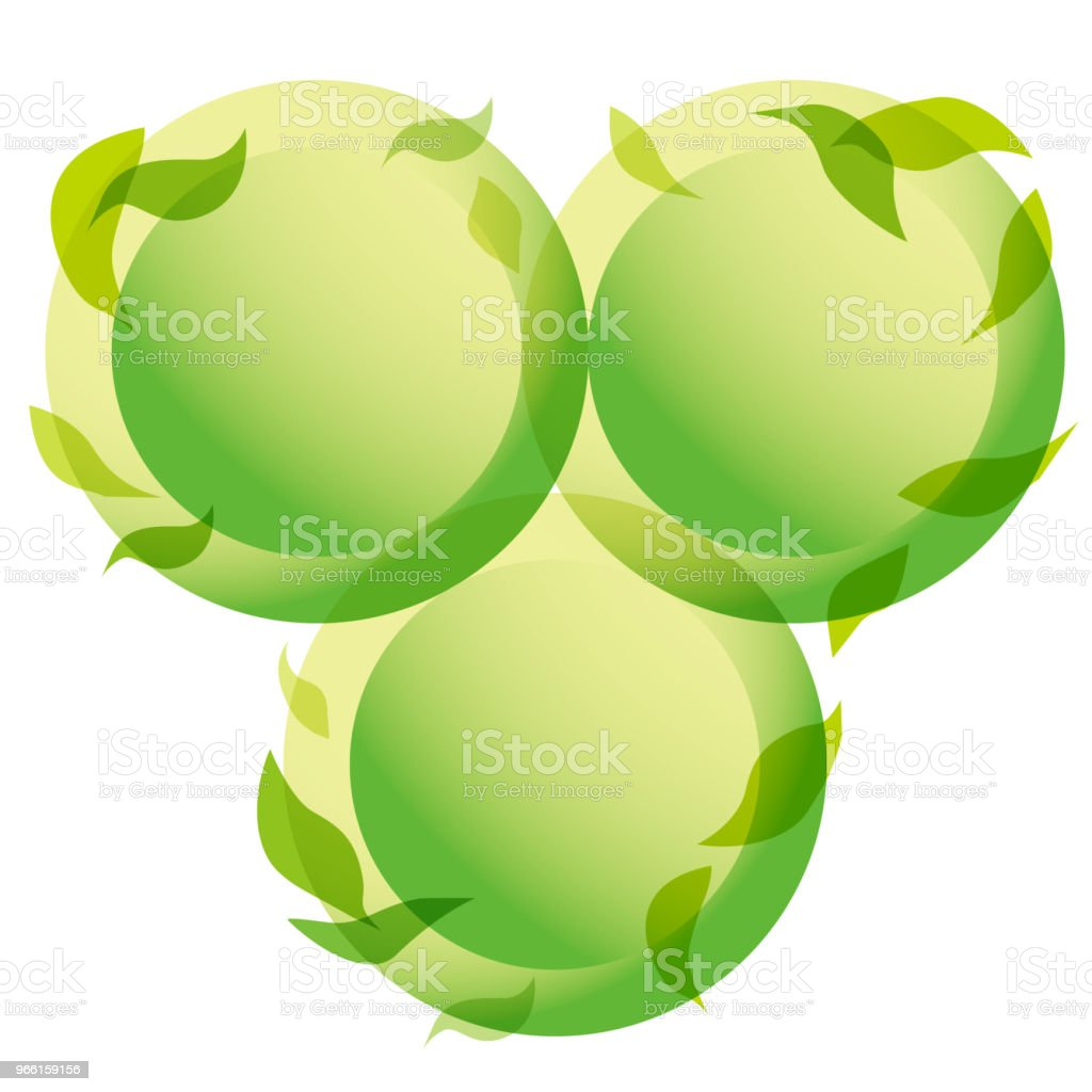 Business materials growing green - arte vettoriale royalty-free di Affari