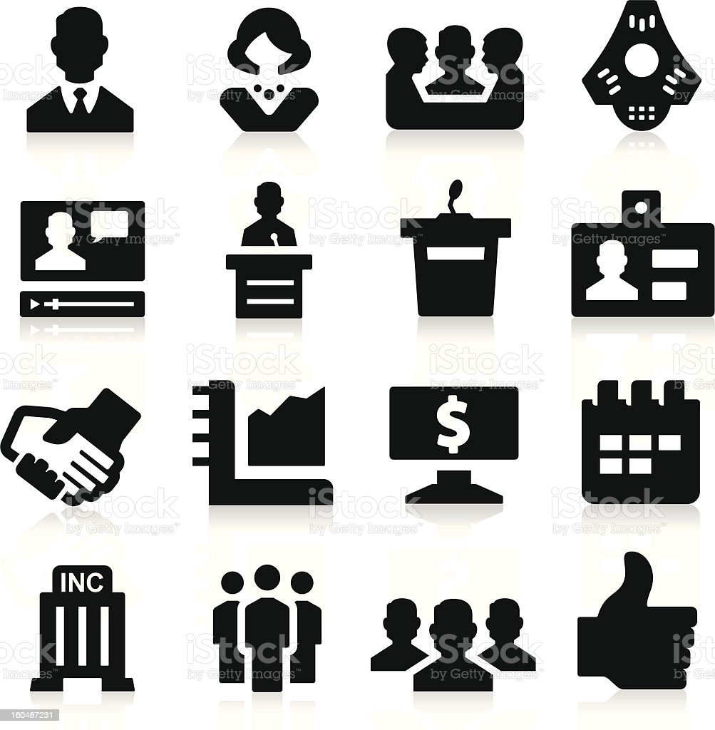 Business & Meeting Icons royalty-free business meeting icons stock vector art & more images of adult