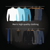 Business men casual clothing