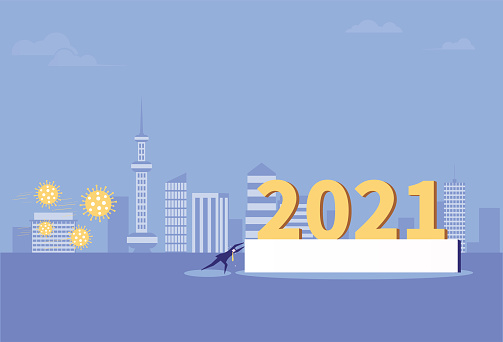 Business men strive to keep 2021 away from the virus