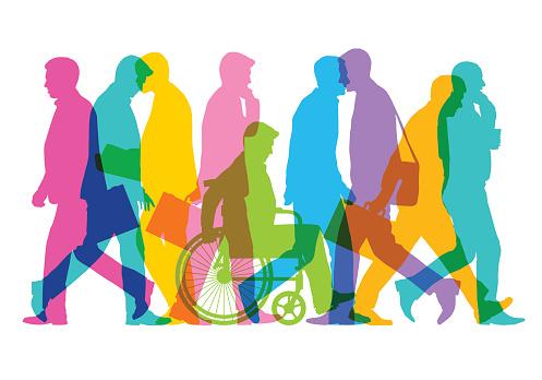 Business Men - Immagini vettoriali stock e altre immagini di Accessibilità