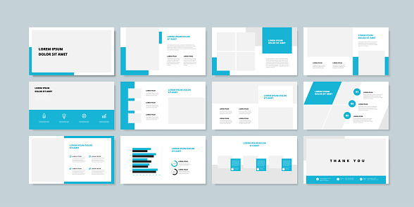 slide templates stock illustrations
