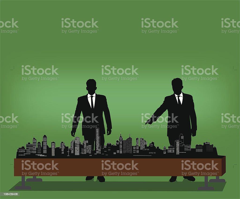Business model royalty-free stock vector art