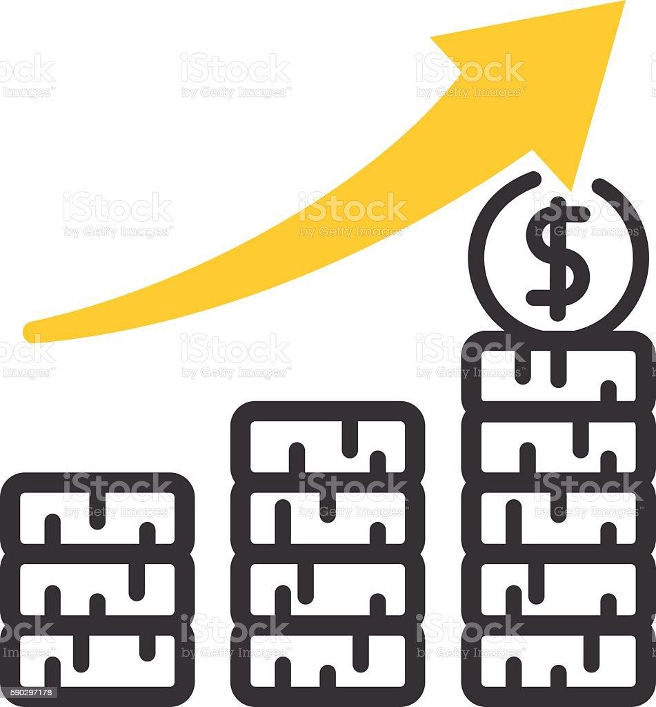 Business motivation icon vector royaltyfri business motivation icon vector-vektorgrafik och fler bilder på affärsman