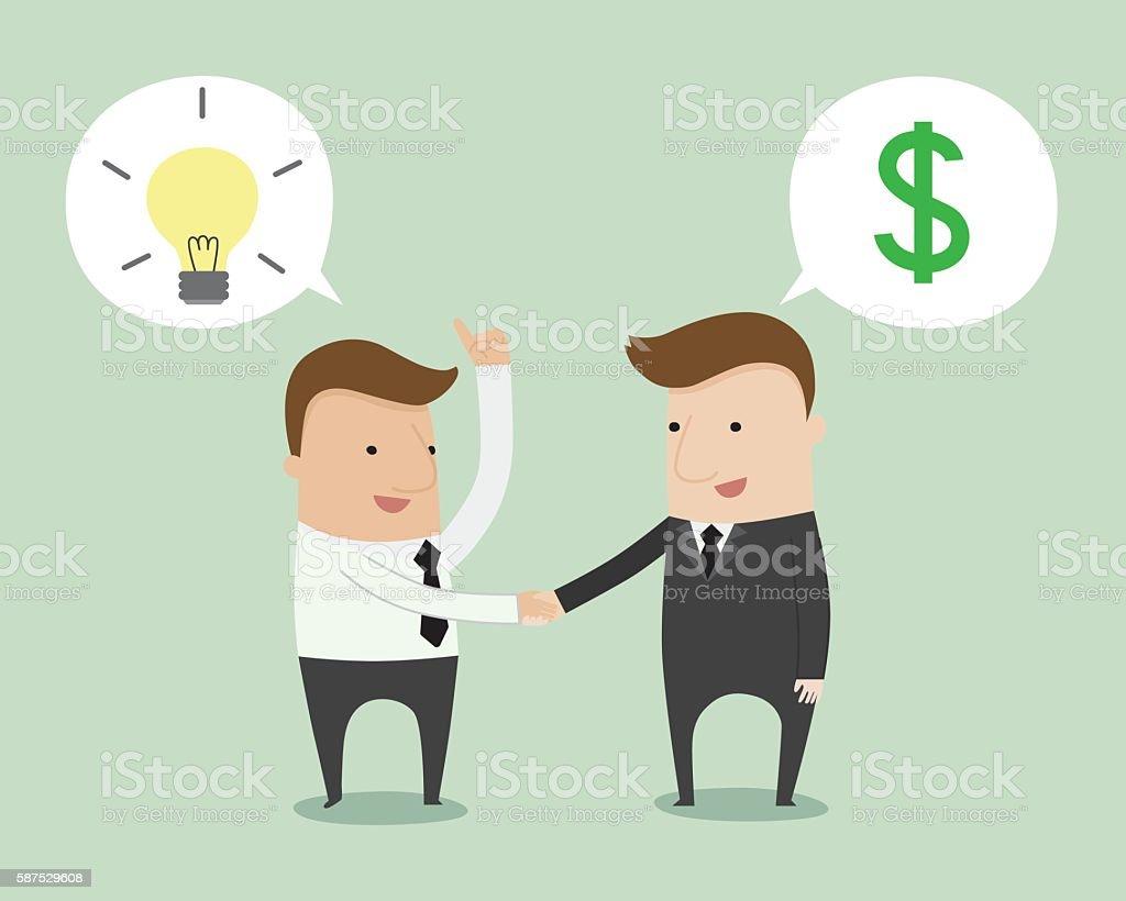Business Negotiation Stock Vector Art