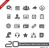 Business Network Icons // Basics