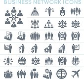 Business network icons