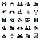 Business Networking Icons