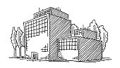 Business Office Building Drawing