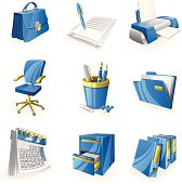 Business & Office Icon Set