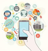 Smartphone can be very useful for business needs. There are so many apps those are helpful for business.