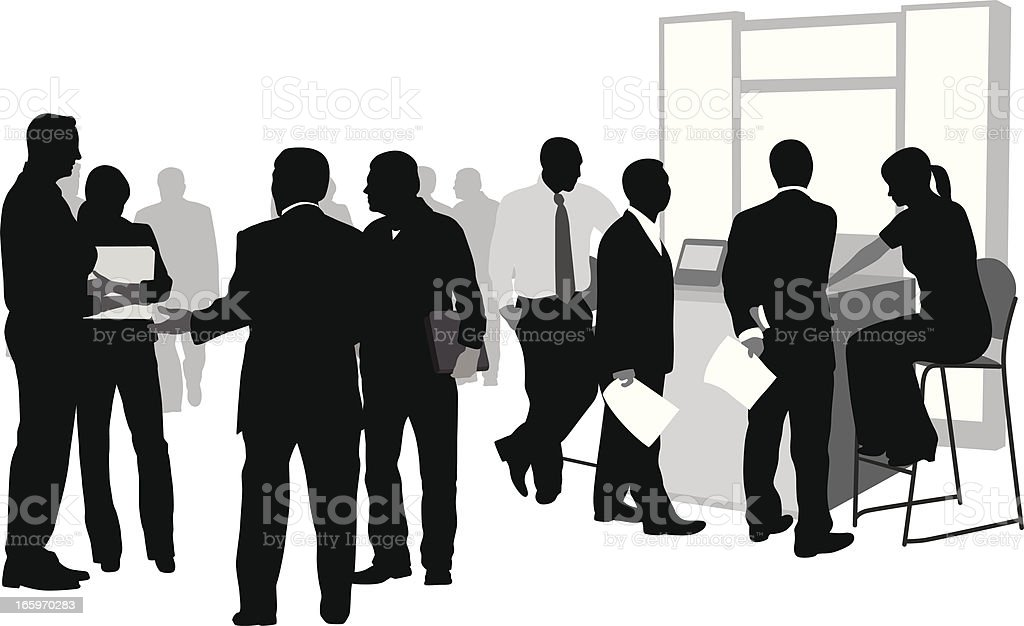 Business Options Vector Silhouette royalty-free business options vector silhouette stock vector art & more images of adult
