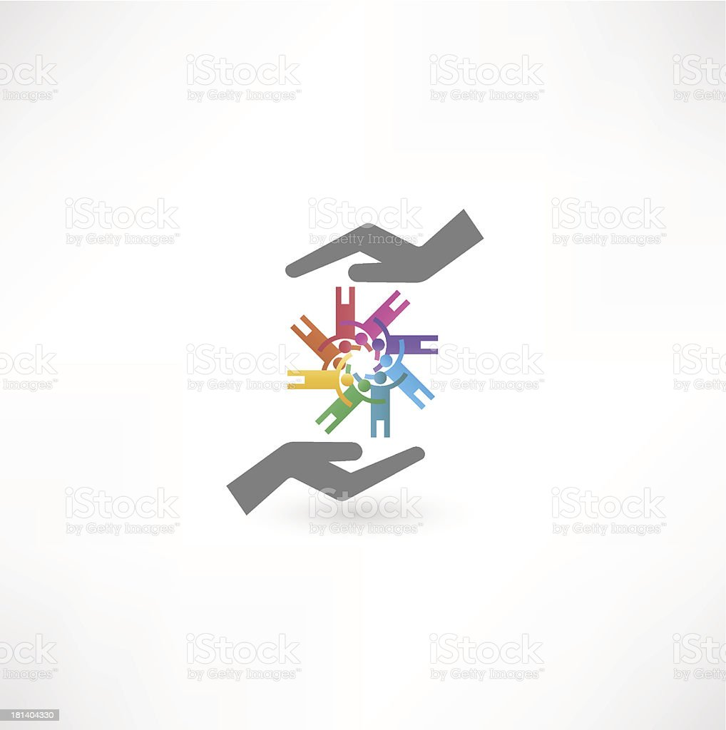 business partners sign royalty-free stock vector art