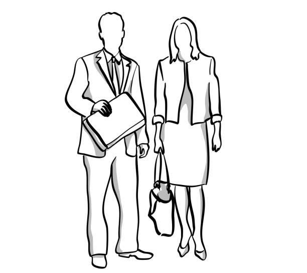 Geschäftspartner – Vektorgrafik