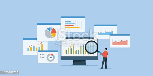 istock business people analytics and monitoring investment and finance report graph on monitor concept 1173288726