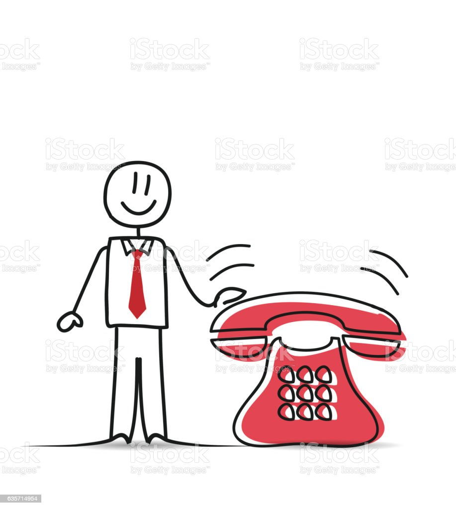Business People and Classic Phone royalty-free business people and classic phone stock vector art & more images of business