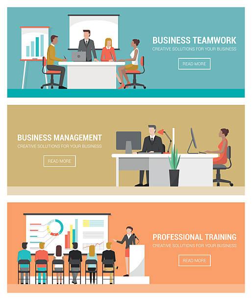 business personen am arbeitsplatz - meeting stock-grafiken, -clipart, -cartoons und -symbole