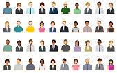 40 People avatars.