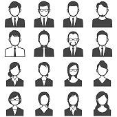 Business people avatars.