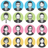 Business people avatars.