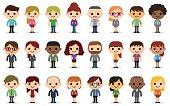 24 people avatars.