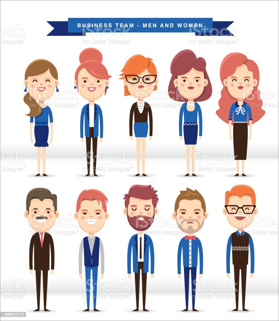 Business people character design royalty-free business people character design stock vector art & more images of adult
