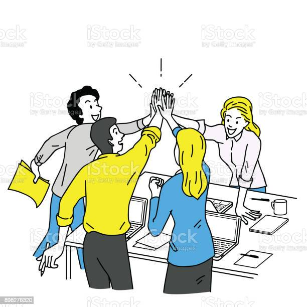 Business people giving high five vector id898276320?b=1&k=6&m=898276320&s=612x612&h=h6don3hfchn2ht2cpym5znyiiuui1sxm 6jsyq5g7do=