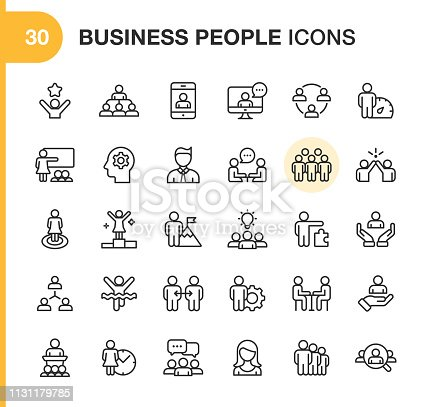30 Outline Icons