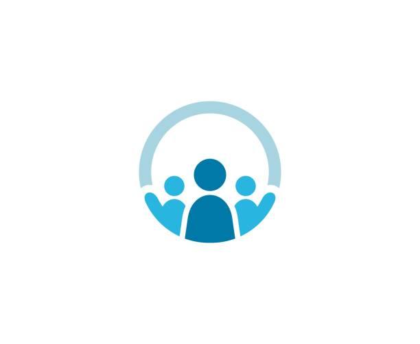 Logo für Geschäftsleute – Vektorgrafik