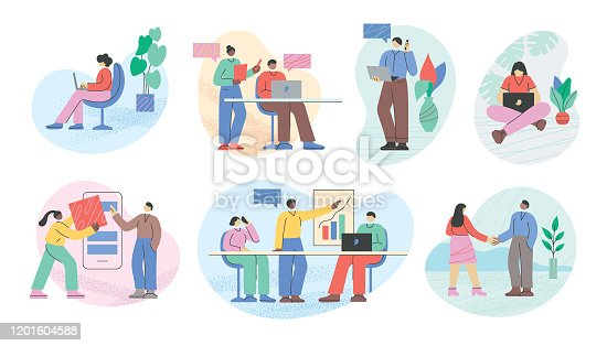 istock Business people office life 1201604588