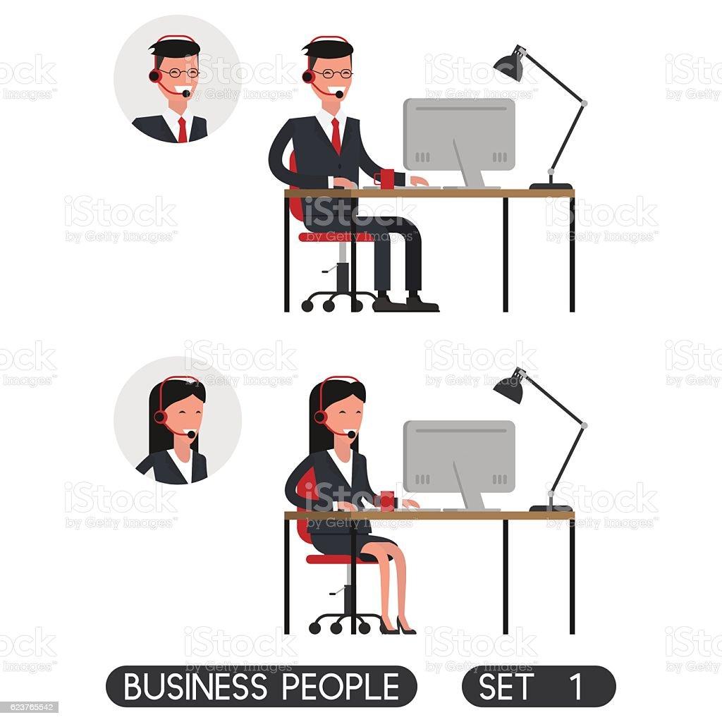 Business people set 1