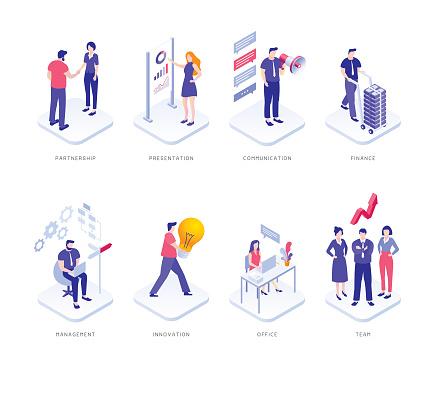 people infographics stock illustrations